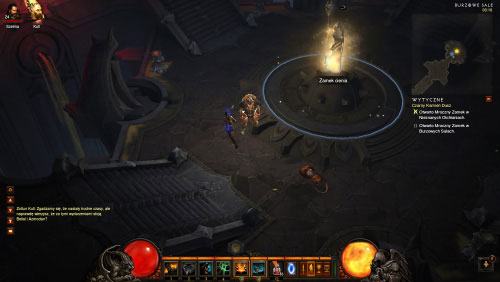 Continue exploring the halls until you find the second Shadow Lock - The Black Soulstone - Quests - Diablo III - Game Guide and Walkthrough