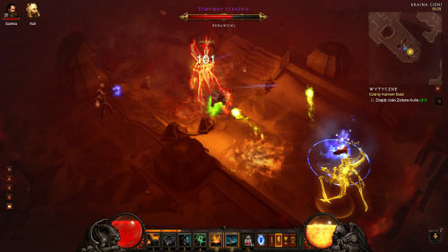 This is a dark location occupied by many tough monsters - The Black Soulstone - Quests - Diablo III - Game Guide and Walkthrough