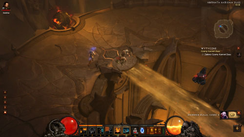 Once you've eliminated Kulle and his servants you will be allowed to collect the Black Soulstone which is in the middle of the chamber - The Black Soulstone - Quests - Diablo III - Game Guide and Walkthrough