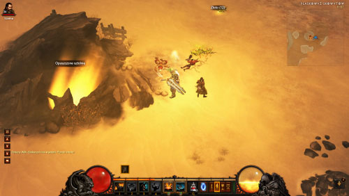 You may find an abandoned groove while exploring the Howling Plateau and you'll notice an injured guard lying on the ground next to the entrance - Lacuni Lair - Events - Diablo III - Game Guide and Walkthrough