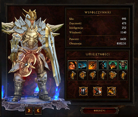 Barbarian High Dps Build Diablo