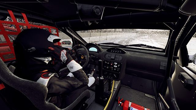 There is no co-driver in the Rallycross, but you will still be hearing tips from your crew through the radio. - Career and Rallycross modes in DiRT Rally 2.0 - Basics - DiRT Rally 2.0 Guide