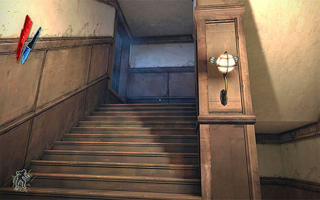 As I have already mentioned, the first floor is inaccessible to the guests - Exploring the Boyle Estate's first floor - Mission 5 - Lady Boyles Last Party - Dishonored - Game Guide and Walkthrough