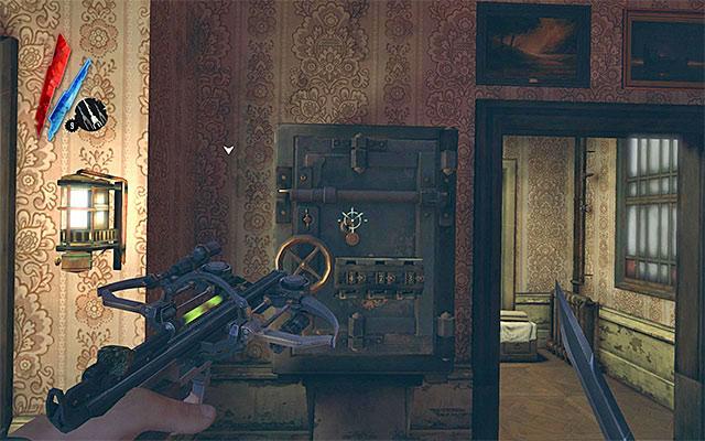 Dishonored код от сейфа в доме пратчетта