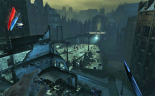 First off, a quick summary and a reminder at the same time - Getting across the quarantine wall - Mission 7 - The Flooded District - Dishonored - Game Guide and Walkthrough