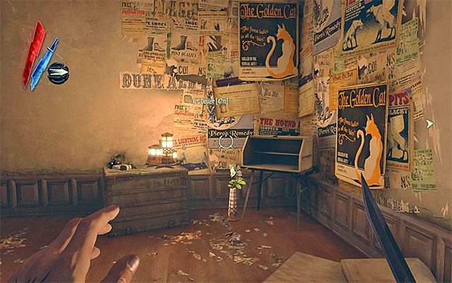 RUNE 2/5 - The rune is inside the deserted tenement located to the right of the Golden Cat club - Runes - locations - p. 1 - Collectibles - Dishonored - Game Guide and Walkthrough