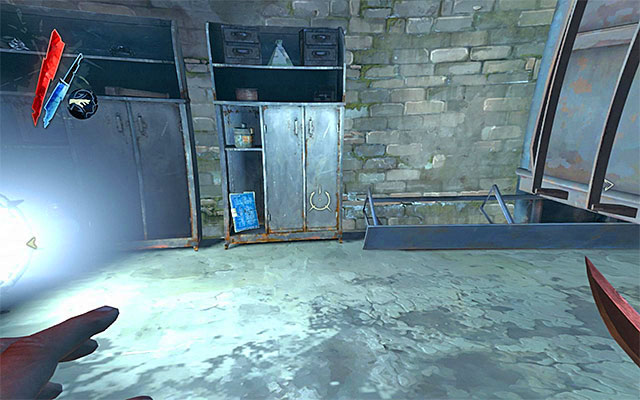 Blueprints locations collectibles dishonored game guide blueprint 11 incandescent puzzle the blueprint is hidden in the storage malvernweather Images