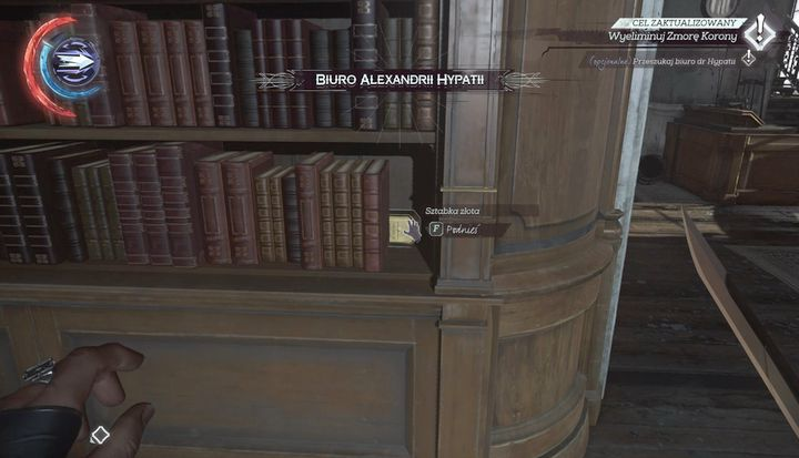 Find Dr Hypatia S Office Mission 3 Dishonored 2 Game