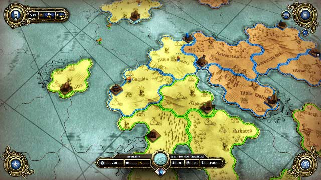 Try to seize the capital of the yellow player to put your hands on considerable deposits of gold - Act II - Walkthrough - Divinity: Dragon Commander - Game Guide and Walkthrough