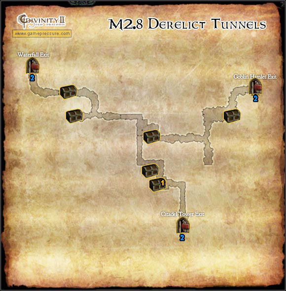 1 - Broken Valley - M2.8 Derelict Tunnels - Broken Valley - Divinity II: Ego Draconis - Game Guide and Walkthrough