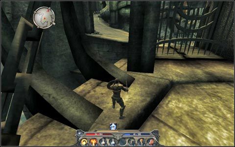 After fighting your way through the gate - I wouldn't suggest trying to cross the main bridge if your character's level not high enough - you'll have to jump a little - Broken Valley - Main quests - Broken Valley - Divinity II: Ego Draconis - Game Guide and Walkthrough