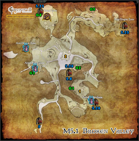 1 - Orobas Fjords - M5.1 Broken Valley - Orobas Fjords - Divinity II: Ego Draconis - Game Guide and Walkthrough