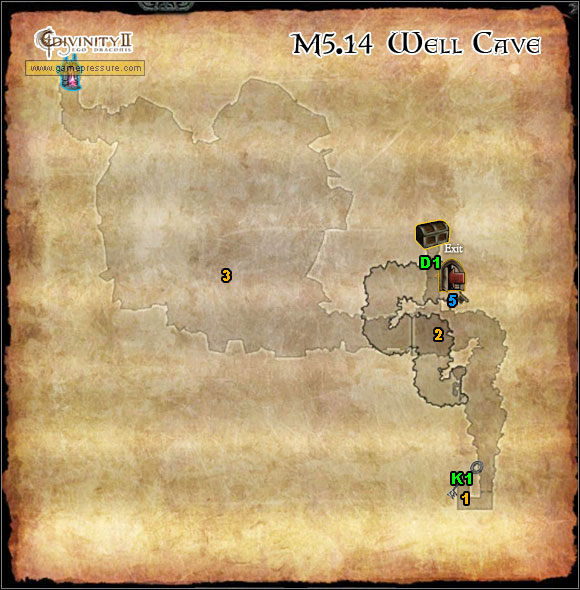 1 - Orobas Fjords - M5.14 Well Cave - Orobas Fjords - Divinity II: Ego Draconis - Game Guide and Walkthrough