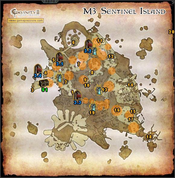 World atlas map sentinel island divinity ii ego draconis 1 world atlas map sentinel island world atlas sentinel island gumiabroncs Gallery