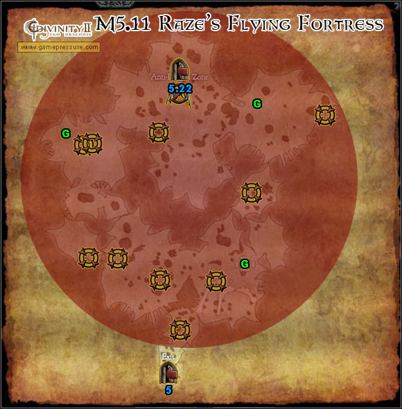 G Generators - World Atlas - Map - Orobas Fjords - M5.11 Raze's Flying Fortress - World Atlas - Orobas Fjords - Divinity II: Ego Draconis - Game Guide and Walkthrough