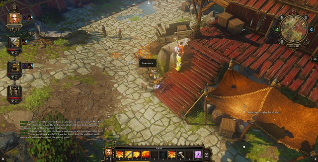 The dead Lawrence massacred by the crowd - The Naked Truth | Luculla Forest / Hiberheim - Side quests - Luculla Forest / Hiberheim - Side quests - Divinity: Original Sin Game Guide