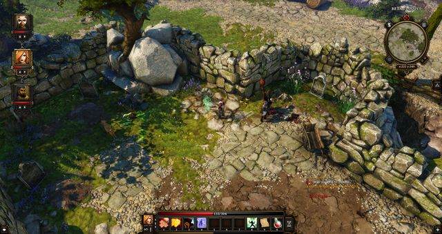 There is a tunnel at this cemetery - Cyseal - City map | Cyseal - Maps - Cyseal - Maps - Divinity: Original Sin Game Guide