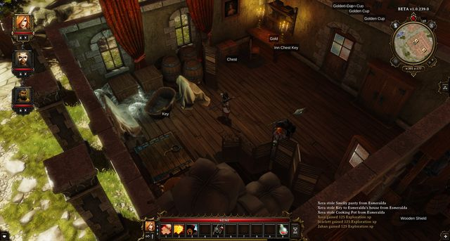 The trapdoor leads to the slaughter house - The Councillors Wife | Cyseal - Main quests - Cyseal - Main quests - Divinity: Original Sin Game Guide