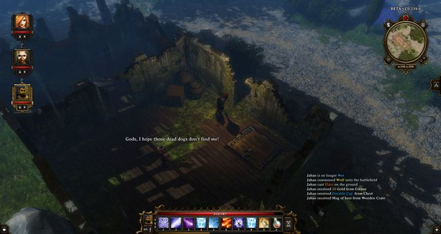 Wulfram in one of the houses - Lost Archeologist | Cyseal - Side quests - Cyseal - Side quests - Divinity: Original Sin Game Guide