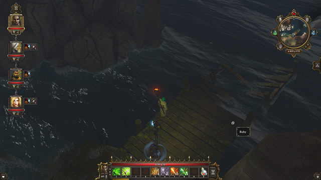 The ruby on the pier - Black Cove | Secrets and digging out treasures - Secrets and digging out treasures - Divinity: Original Sin Game Guide