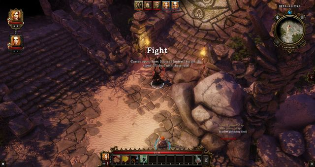 In the underground, on the right, there is an optional tutorial - A Mysterious Murder | Cyseal - Main quests - Cyseal - Main quests - Divinity: Original Sin Game Guide