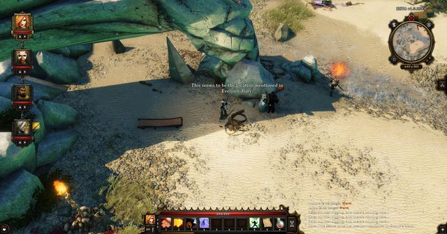 Here, the party members realize that they are where they should be - A Mysterious Murder | Cyseal - Main quests - Cyseal - Main quests - Divinity: Original Sin Game Guide