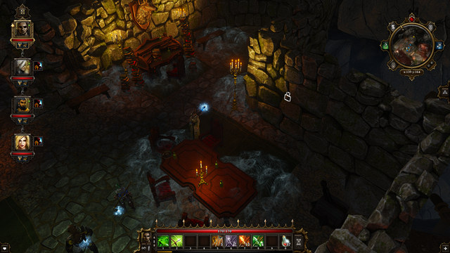 The location of the switch and the lever in the corner. - Black Cove (level 1) | Cyseal - Maps - Cyseal - Maps - Divinity: Original Sin Game Guide