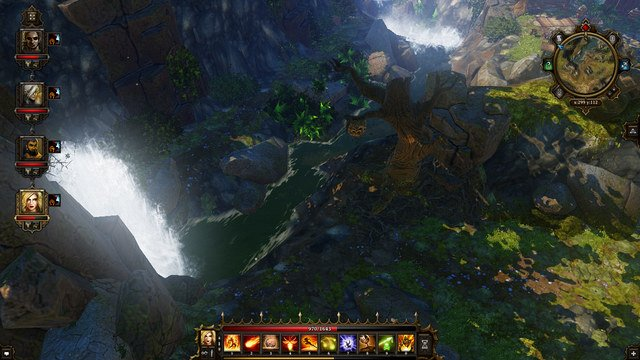 The spot to take the jump in - Luculla Forest | Secrets and digging out treasures - Secrets and digging out treasures - Divinity: Original Sin Game Guide