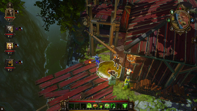 The digging spot - Luculla Forest | Secrets and digging out treasures - Secrets and digging out treasures - Divinity: Original Sin Game Guide