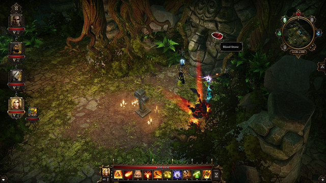 A Bloodstone behind the tombstone - Dark Forest | Secrets and digging out treasures - Secrets and digging out treasures - Divinity: Original Sin Game Guide
