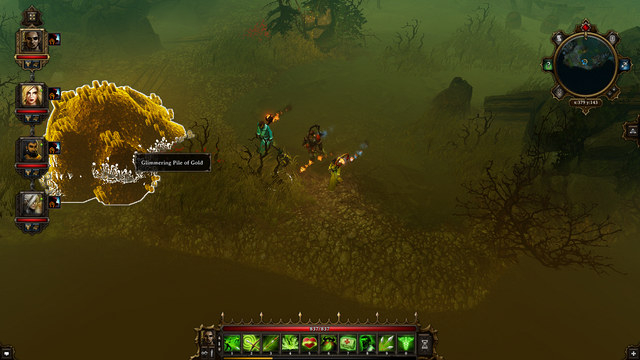 The heap of gold in the swamps - Dark Forest | Dark Forest - Maps - Dark Forest - Maps - Divinity: Original Sin Game Guide
