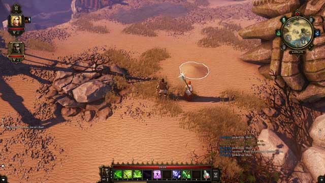 A mound on the ground signaling a hidden treasure. - How to Earn Gold Quickly? - Game Guide - Divinity: Original Sin Game Guide