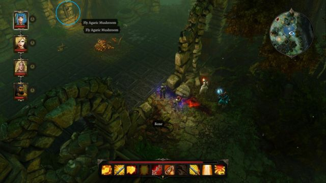 A lever deactivating the traps can be seen on the screenshot. - Puzzle - opening the gate to the Source Temple | Dark Forest - Side quests - Dark Forest - Side quests - Divinity: Original Sin Game Guide