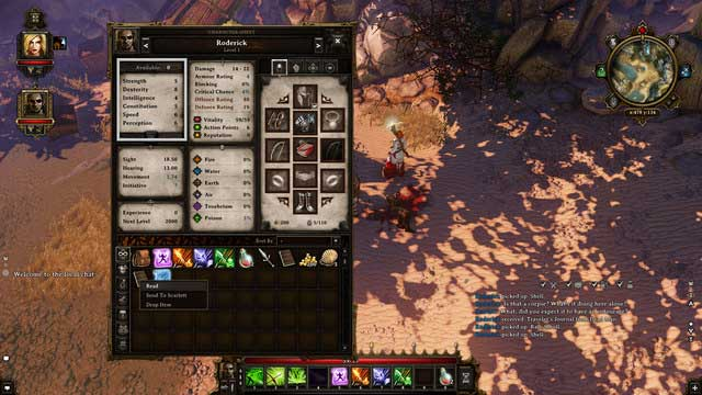 The attributes tab - Abilities, Talents and Attributes | Character - Character - Divinity: Original Sin Game Guide