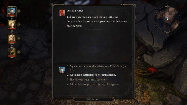 Incorrect answer will teleport your whole party to the very beginning. - First Garden (Void Dragon) | Dark Forest - Main quests - Dark Forest - Main quests - Divinity: Original Sin Game Guide