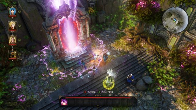 Use the spell acquired from Icara, to activate the portal. - First Garden (Void Dragon) | Dark Forest - Main quests - Dark Forest - Main quests - Divinity: Original Sin Game Guide