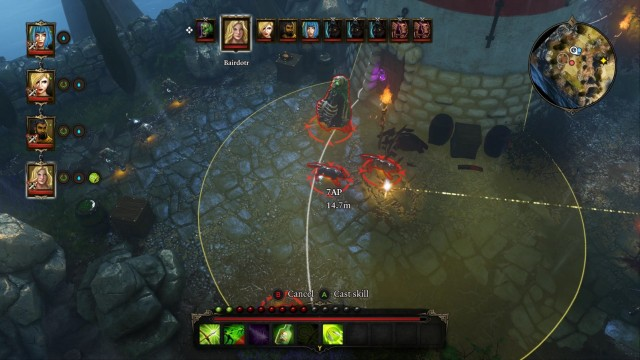 Try to deal as much as damage as possible before enemies scatter around the battlefield. - The Ghoul That Guards the Lighthouse | Bosses - Bosses - Divinity: Original Sin Game Guide