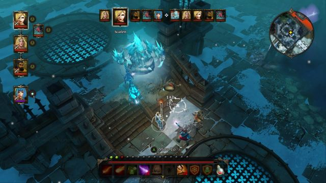 Block the passage on the stairs - this way the enemy wont be able to reach your vulnerable characters. - King Boreas | Bosses - Bosses - Divinity: Original Sin Game Guide