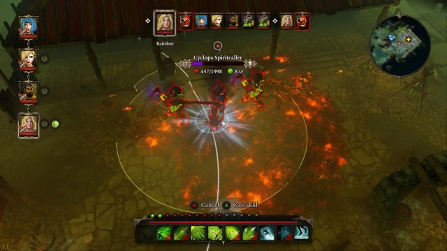 A single spell and most of the enemies are barely alive. - Cyclops Spiritcaller | Bosses - Bosses - Divinity: Original Sin Game Guide
