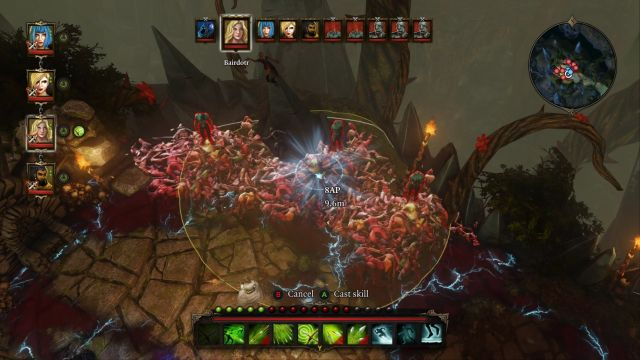 Area of effect spells and abilities will easily hit numerous zombies at once. - Cassandra | Bosses - Bosses - Divinity: Original Sin Game Guide