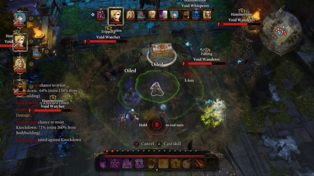 The Earthquake spell is probably the best one for this encounter. - Void Dragon | Bosses - Bosses - Divinity: Original Sin Game Guide