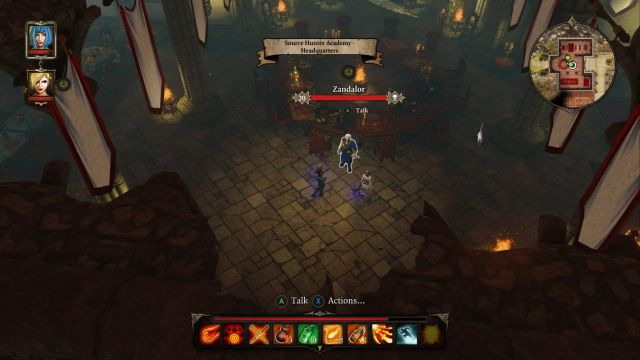 After speaking with Zandalor, go to the exit located to the west to finish the game. - Void Dragon | Bosses - Bosses - Divinity: Original Sin Game Guide