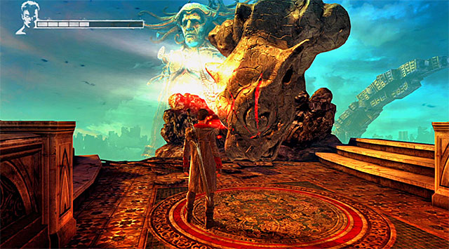 Resume jumping on next platforms - The First Memory - 2: Home Truths - DMC: Devil May Cry - Game Guide and Walkthrough