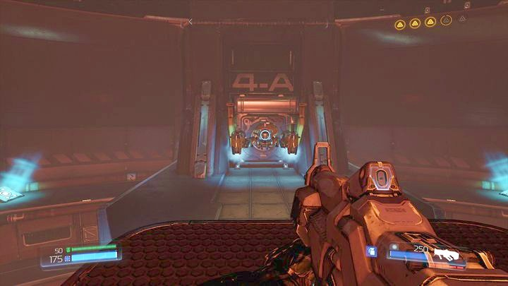 It will take you to the platform with a lever which will unlock the Classic Map below (in the place where drones are hiding) - Argent Energy Tower | Secrets - Secrets - Doom Game Guide & Walkthrough