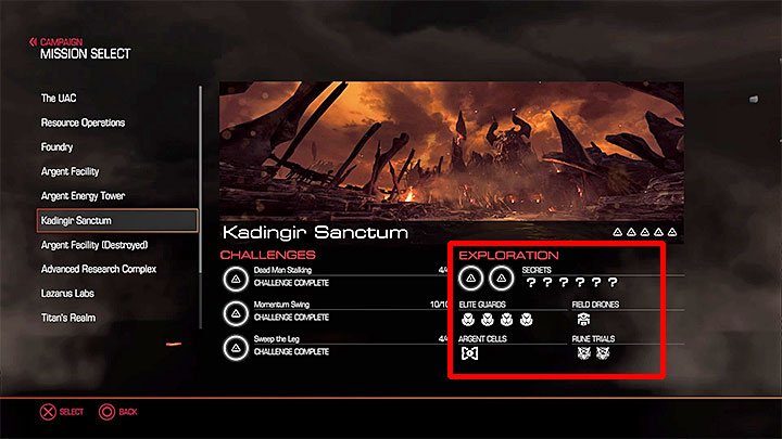 Types of secrets in Doom - Doom Game Guide & Walkthrough