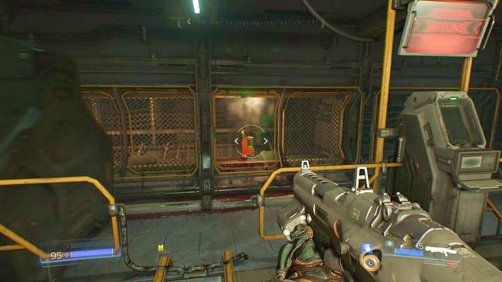 Go to the right from the yellow door once you obtain the yellow key - Resource Operations | Secrets - Secrets - Doom Game Guide & Walkthrough