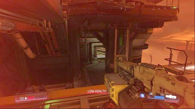 You will unlock a Classic Map which is located one floor below - Destroyed Argent Facility | Walkthrough - Walkthrough - Doom Game Guide & Walkthrough