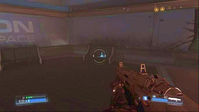 Use Automap on the right side of the room once the battle is over - Destroyed Argent Facility | Walkthrough - Walkthrough - Doom Game Guide & Walkthrough