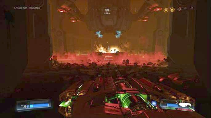 It is a very powerful weapon which has just as limited ammunition as Chainsaw - Advanced Research Complex | Walkthrough - Walkthrough - Doom Game Guide & Walkthrough