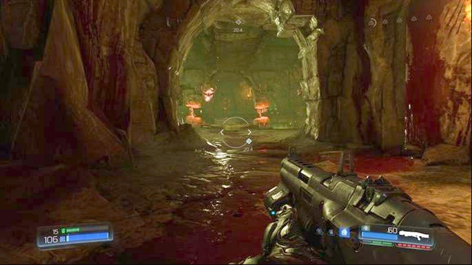 There will be a hole at the end of the tunnel - Titans Realm | Walkthrough - Walkthrough - Doom Game Guide & Walkthrough